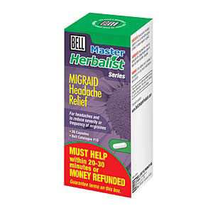 Migraid Headache Relief 30 Caps