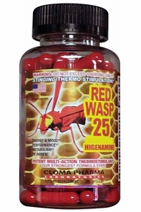 Red Wasp 75 caps with Ephedra