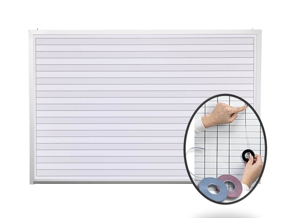 2 x 3 Dry Erase Boards with Lines – Lined Chart Paper