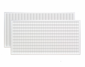 4 x 8 Magnetic Grid Boards