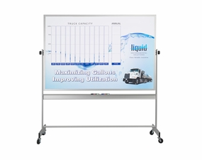 Custom Printed Reversible Magnetic Whiteboards