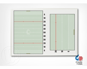 Non-Magnetic Dry Erase Football Board