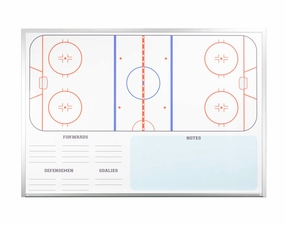 Economy Hockey Dry Erase Board