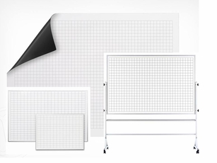 Dry Erase Grid Options