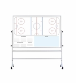Ice Hockey Board on Wheels