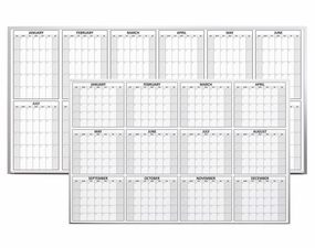 Magnetic Yearly Planning Calendar
