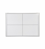 Small Dry Erase XY Grid Board