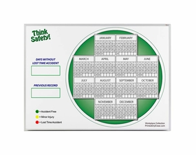 Yearly Lost Time Accident Reporting Board Kit