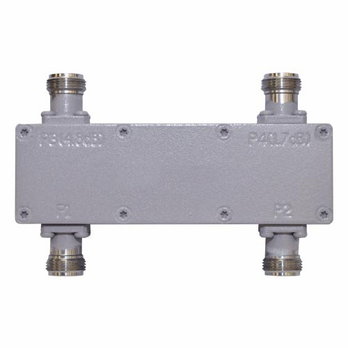 150-DC-FFN-4.8H, Low PIM 2x2 Hybrid Coupler
