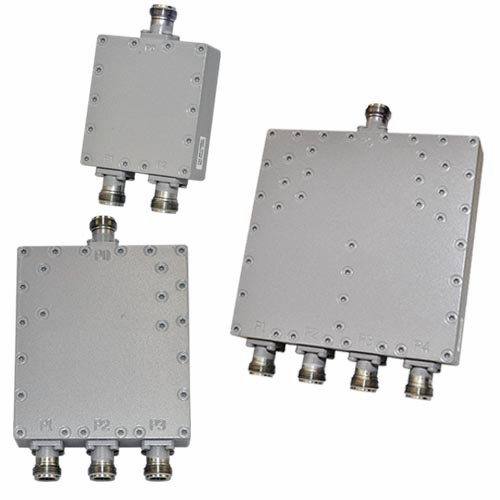 200-DD-FFN Series, Low PIM RF Power Dividers