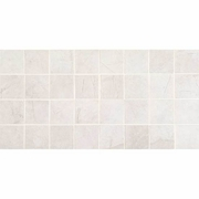 American Olean Bevalo Dove Mosaic 3 x 3