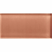 "American Olean Color Appeal Brandied Melon 3"" x 6"""