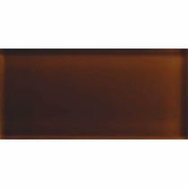 "American Olean Color Appeal Copper Brown 3"" x 6"""