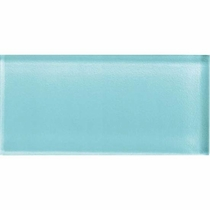 "American Olean Color Appeal Fountain Blue 4"" X 12"""