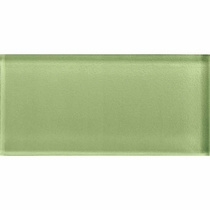 "American Olean Color Appeal Grasshopper 4"" X 12"""