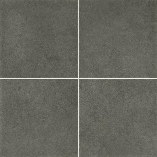 American olean concrete chic stylish charcoal porcelain for 12x12 black ceramic floor tile