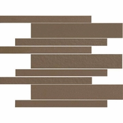 "American Olean Decorum Formal Brown Mosaic 12"" x 12"""