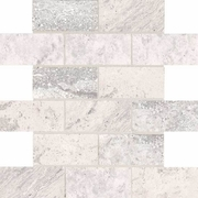 American Olean Laurel Heights Gray Summit Brick Joint Mosaic 2 x 4