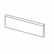"American Olean Laurel Heights Gray Summit Wall Bullnose 3"" x 12"""