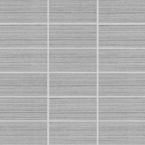 "American Olean Rapport Cordial Gray Mosaic 2"" x 4"""