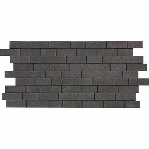 "American Olean Relevance Exact Black Mosaic 12"" x 24"""