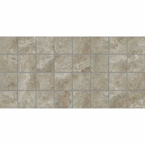 American Olean Stone Claire Ashen Mosaic 3 x 3