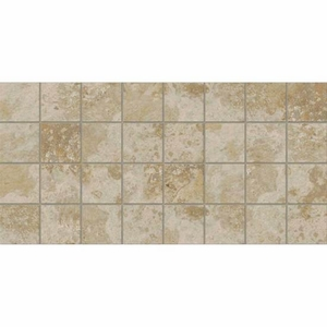 """American Olean Stone Claire Bluff Mosaic 3"""" x 3"""""""