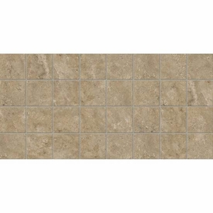 American Olean Stone Claire Russet Mosaic 3 x 3