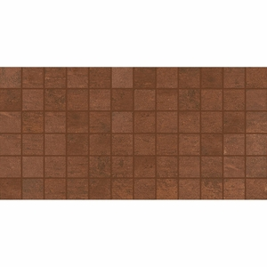 American Olean Theoretical Deep Copper Mosaic