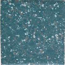 "American Olean Unglazed Colorbody Mosaics Bimini Blue Hexagon 1"" x 1"""