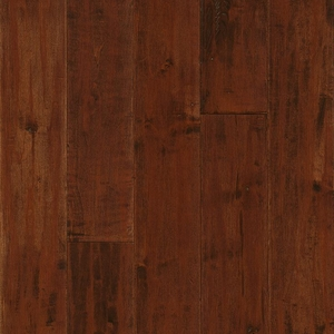 Armstrong American Scrape Solid Maple Cranberry Woods 5""