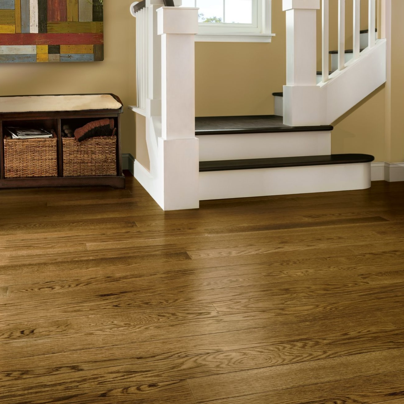 Armstrong timberbrushed deep etched dusty ranch hardwood for Armstrong homes price per square foot