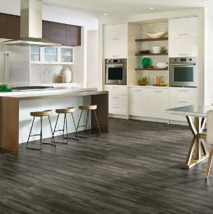 Armstrong luxe rigid core vinyl flooring for Kitchen flooring sale