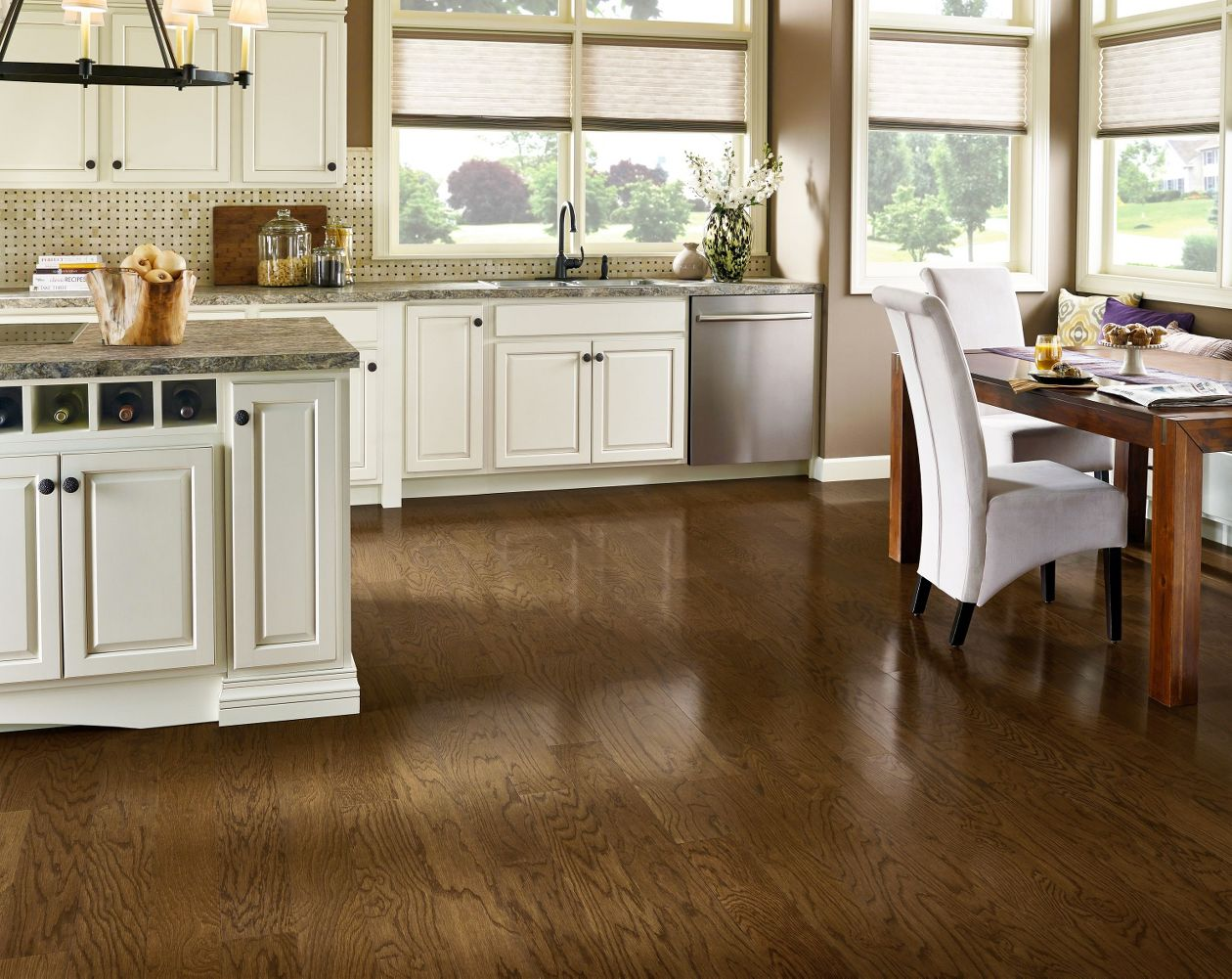 Armstrong Prime Harvest Oak Forest Brown High Gloss 5