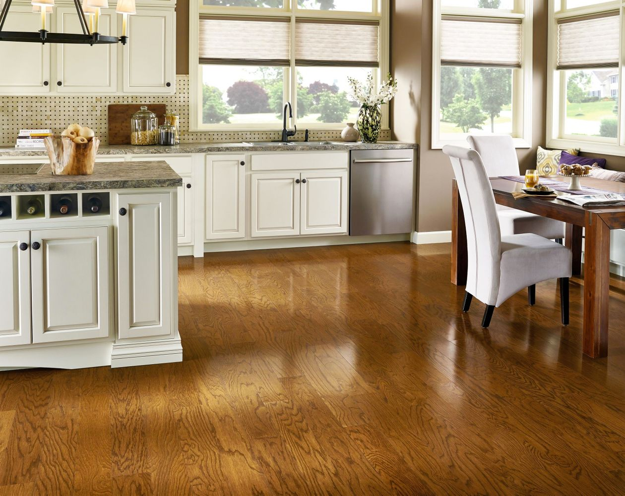Armstrong prime harvest oak gunstock 5 hardwood flooring for Armstrong homes price per square foot