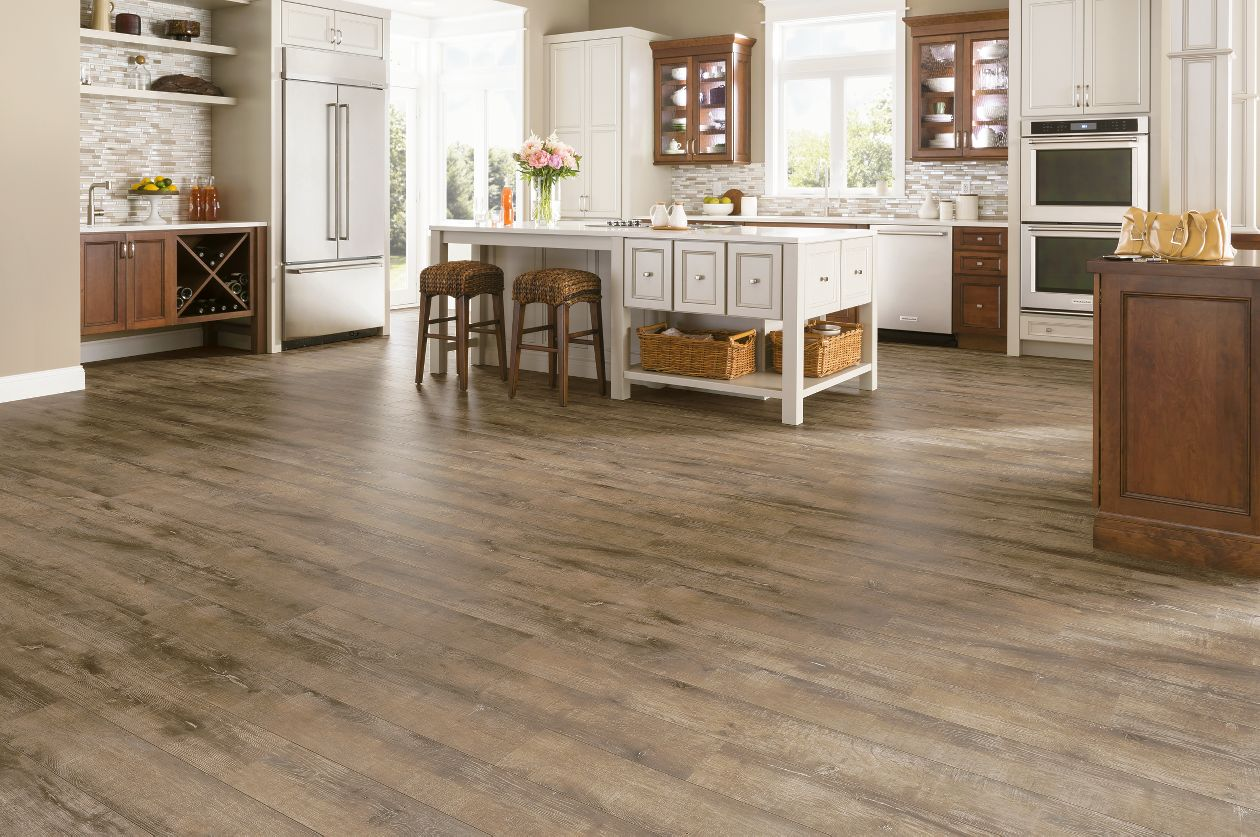 Armstrong rustics premium wb oak etched light brown for Armstrong laminate flooring