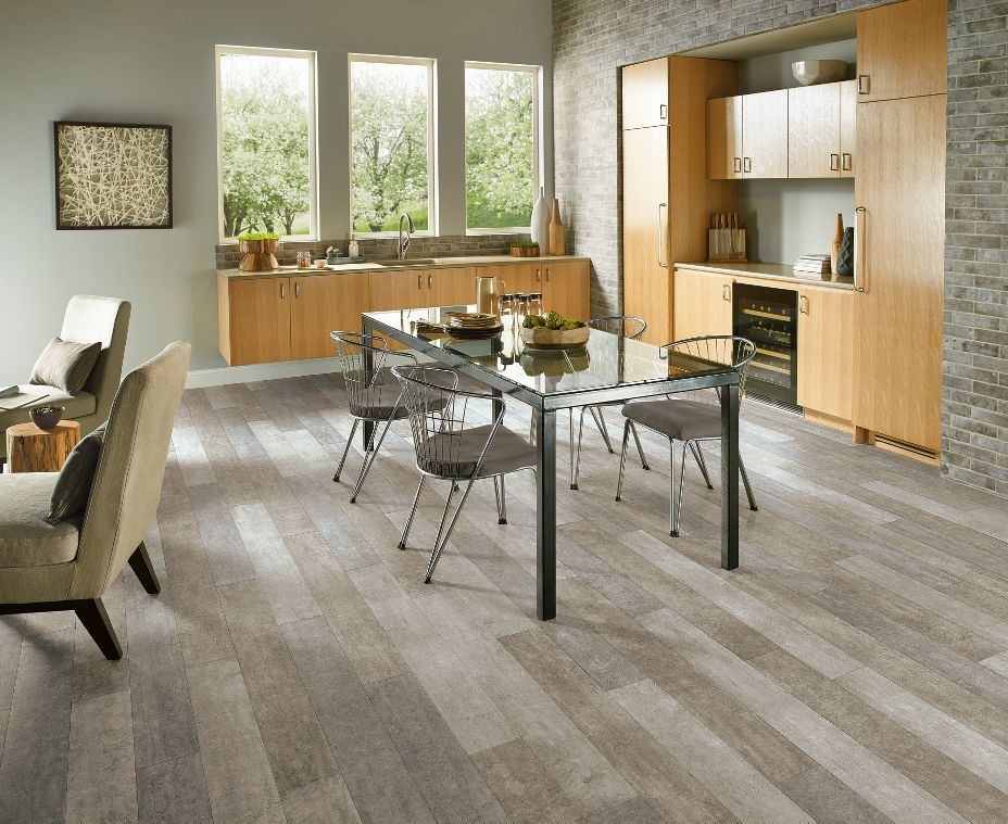 Armstrong vivero cinder forest cosmic gray vinyl flooring for Armstrong homes price per square foot