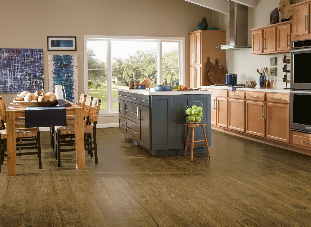 Armstrong vivero hickory point copper penny luxury vinyl for Armstrong homes price per square foot