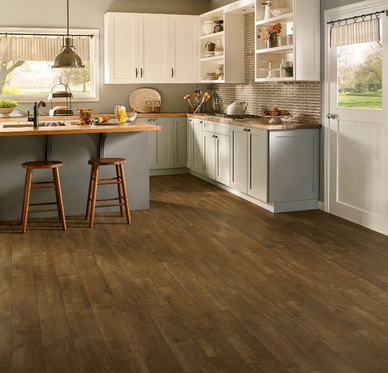 Armstrong vivero rural reclaimed russet luxury vinyl for Armstrong homes price per square foot