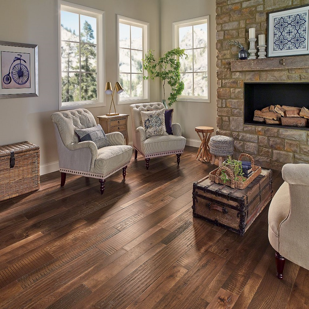 Armstrong woodland relics vintage revival hardwood flooring for Casa classica collection laminate flooring
