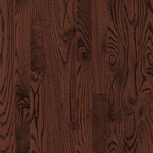 Armstrong Yorkshire Strip White Oak Cherry Spice