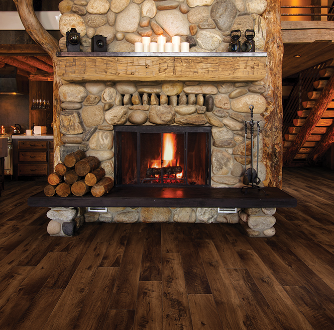Balterio Heritage Burnt Pub Oak Laminate Flooring