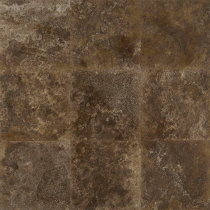 "Bedrosians Travertine Tile Crater 18"" x 18"""