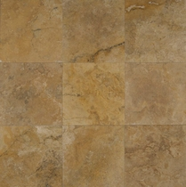 "Bedrosians Travertine Tile Crema Viejo 12"" x 12"""