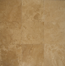 "Bedrosians Travertine Tile Kashmere 18"" x 18"""
