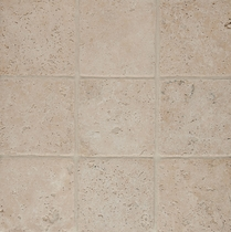 "Bedrosians Travertine Tile Mediterranean Beige 18"" x 18"""