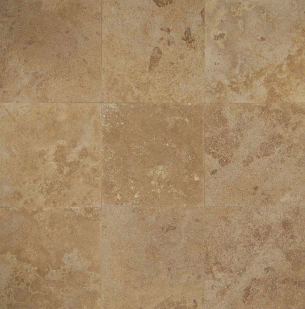 Bedrosians Travertine Mocha Jura Beige Tile Flooring