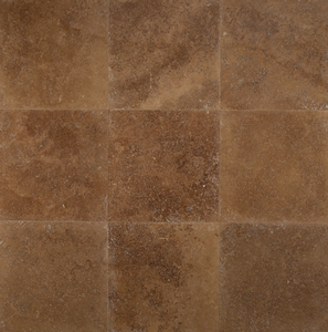 "Bedrosians Travertine Tile Noce Classic 18"" x 18"""