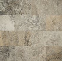 "Bedrosians Travertine Tile Silver-mist 18"" x 18"""
