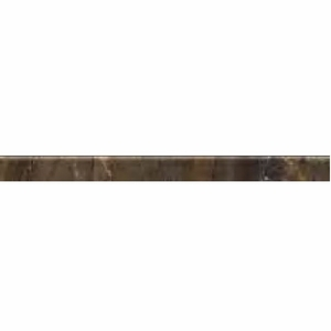 "Cerdomus Dome Charcoal Bullnose 2"" x 24"""
